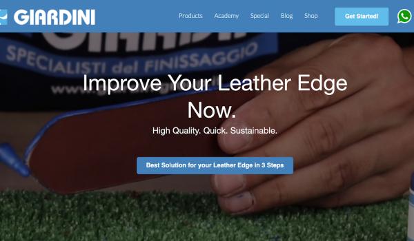 Giardini leather